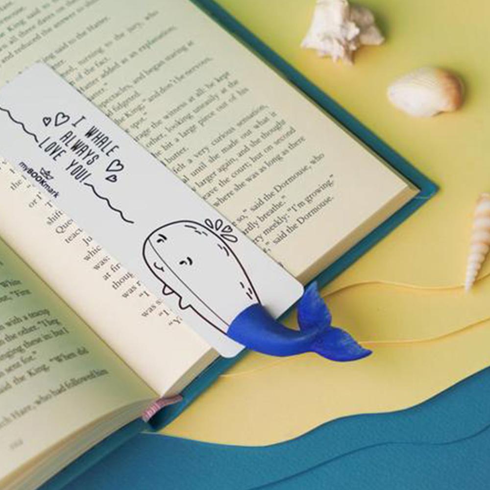 烏克蘭myBookmark|徜徉閱讀的鯨魚書籤