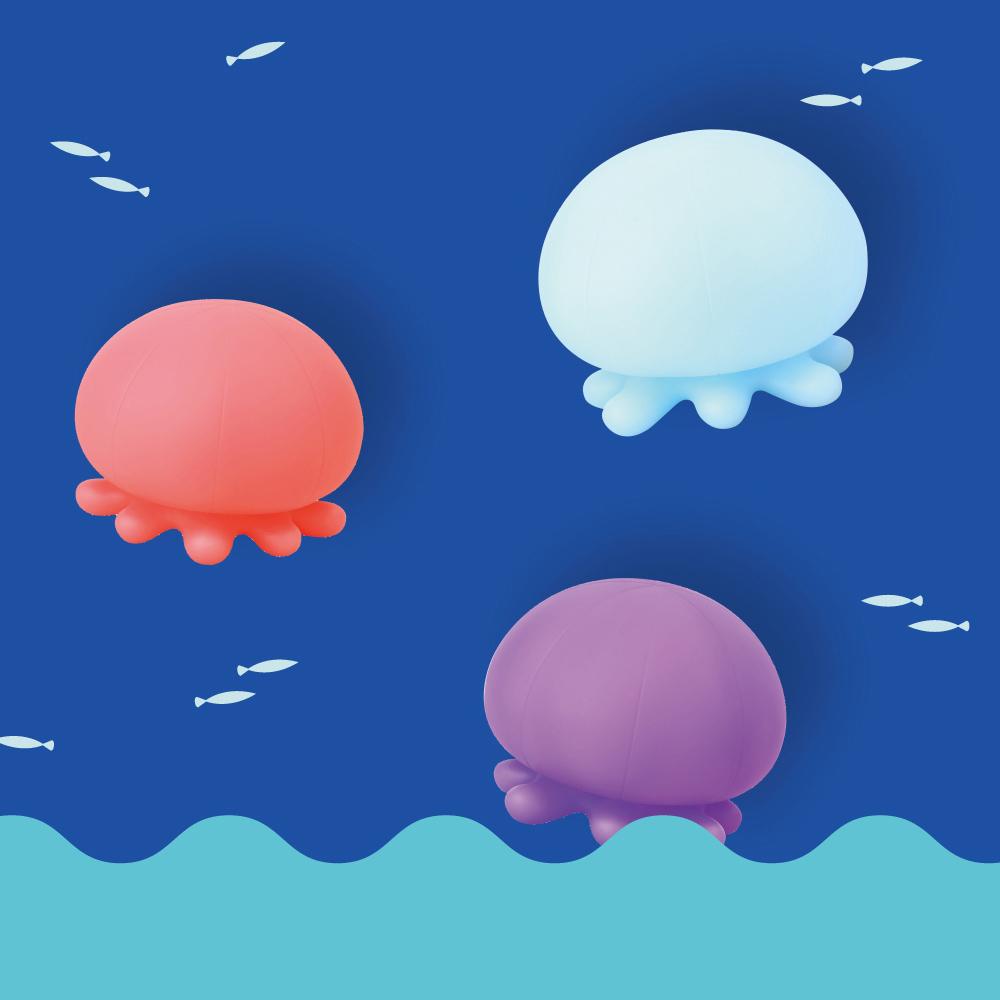 Dreams|水母造型時尚紓壓沐浴氣氛燈(藍)