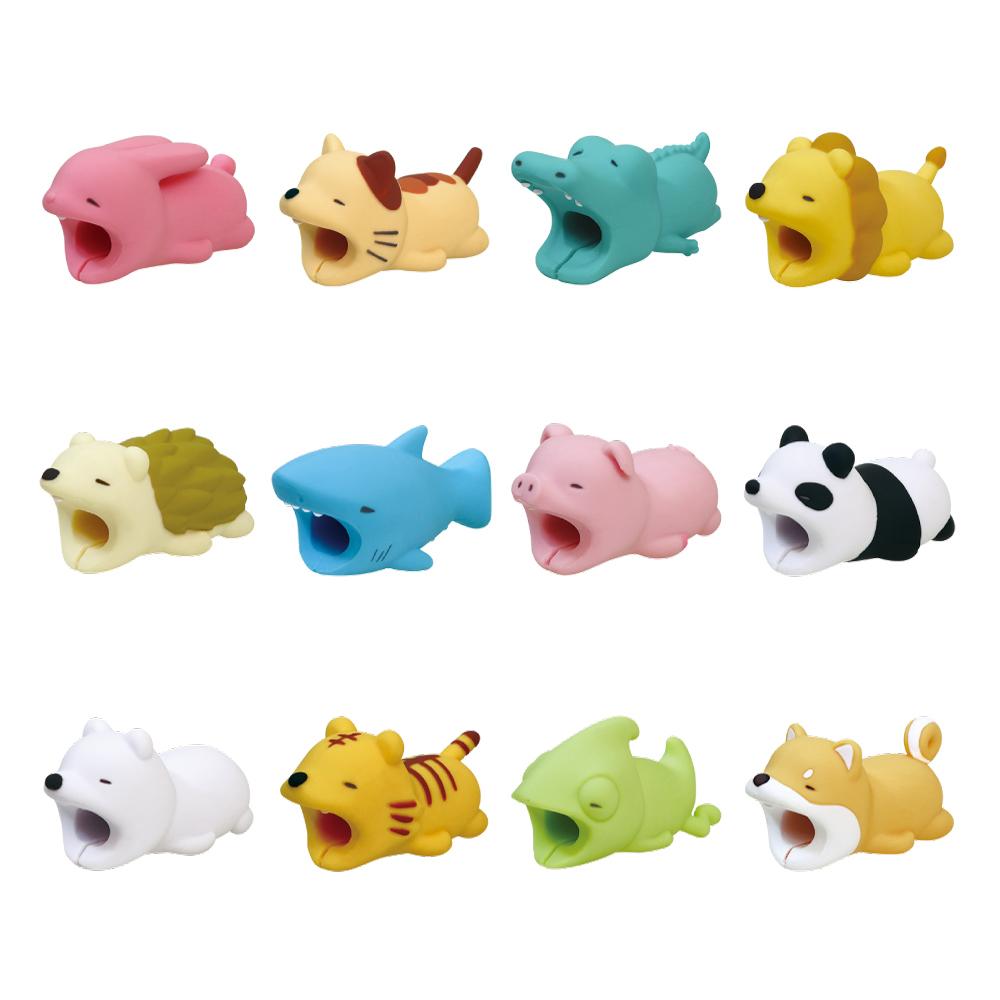 Dreams|慵懶動物園 CableBite Type-C專用咬線器 被揍的熊貓
