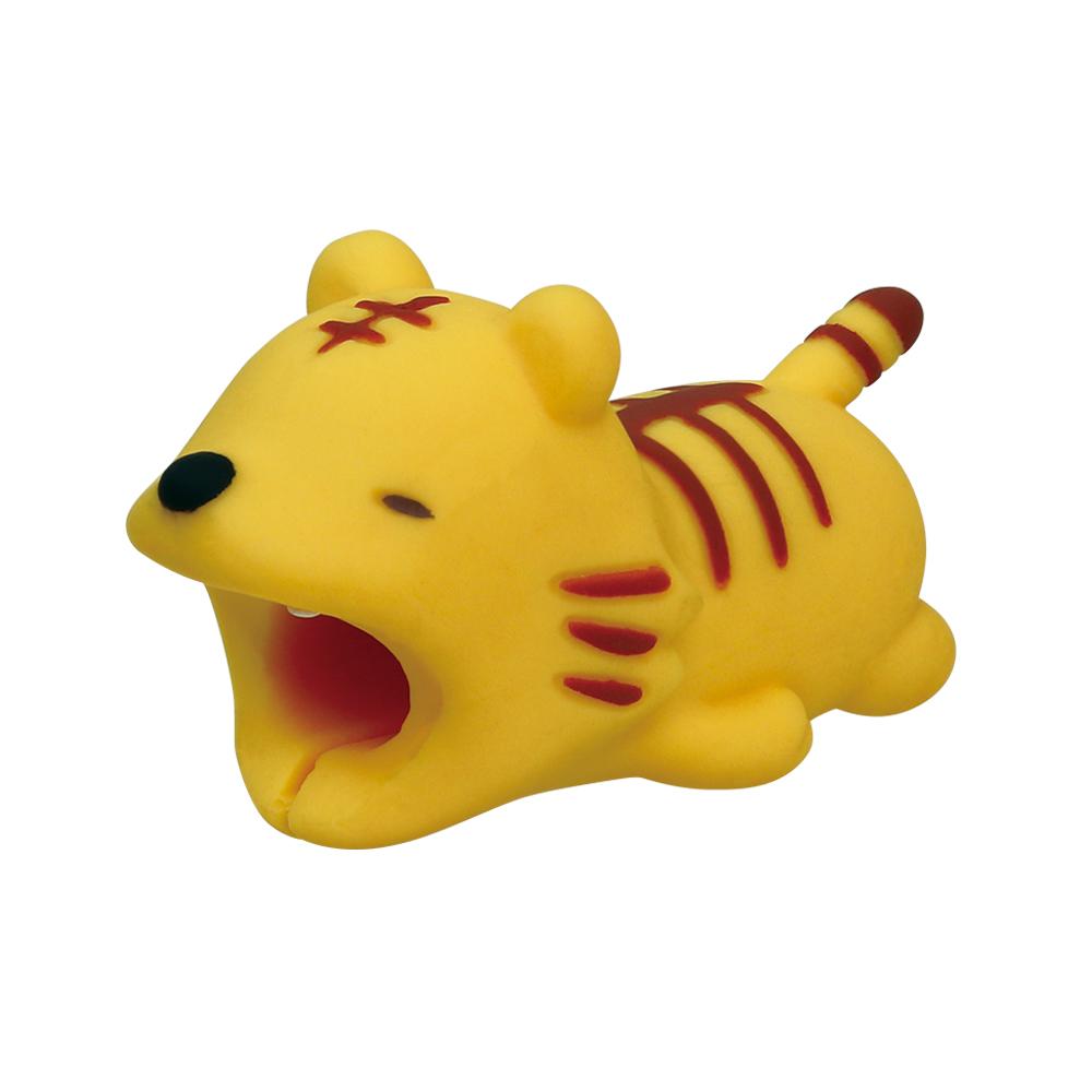 Dreams 慵懶動物園 CableBite Type-C專用咬線器 放空的老虎