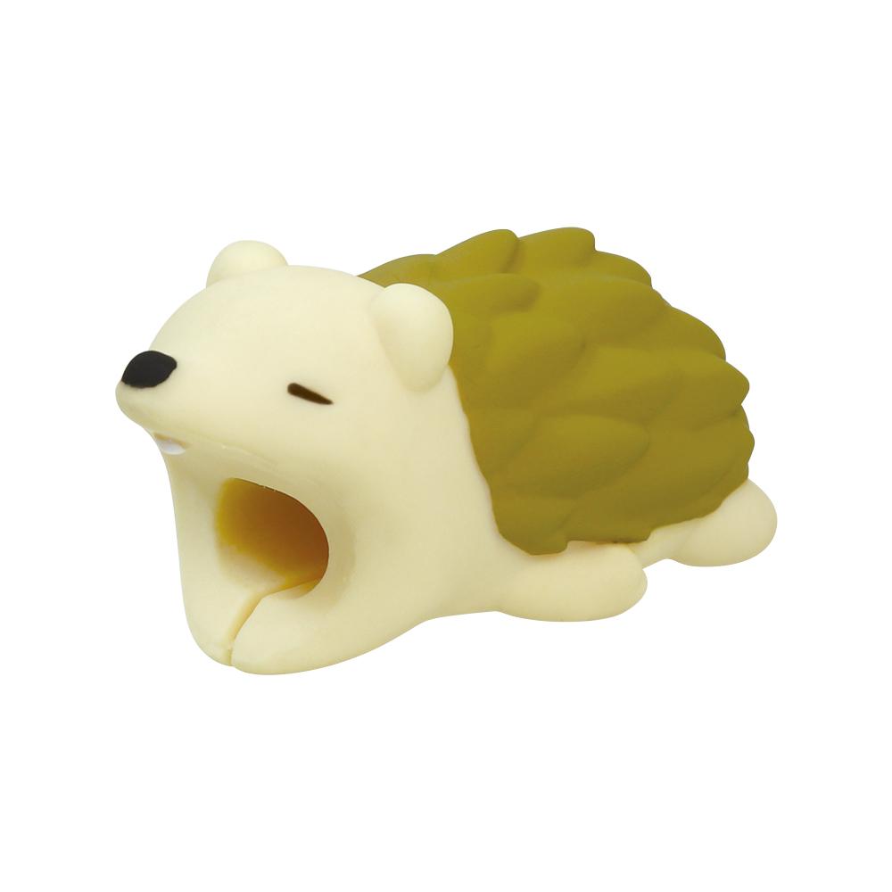 Dreams|慵懶動物園 CableBite Type-C專用咬線器 不驚悚刺蝟