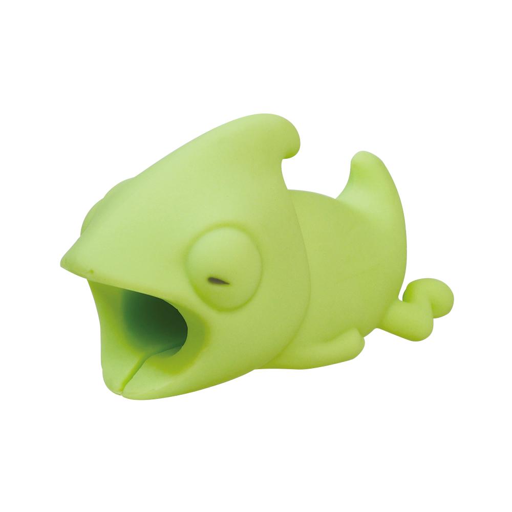 Dreams|慵懶動物園 CableBite Type-C專用咬線器 魯蛇變色龍