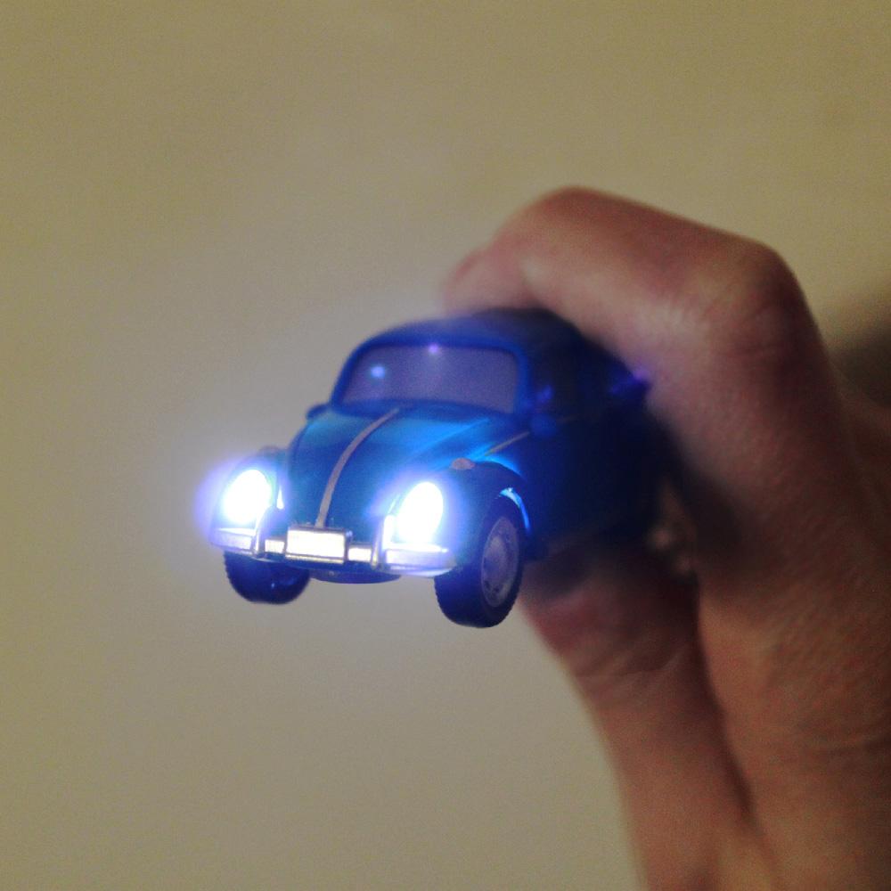 Dreams|VW福斯授權LED金龜車鑰匙圈 黑