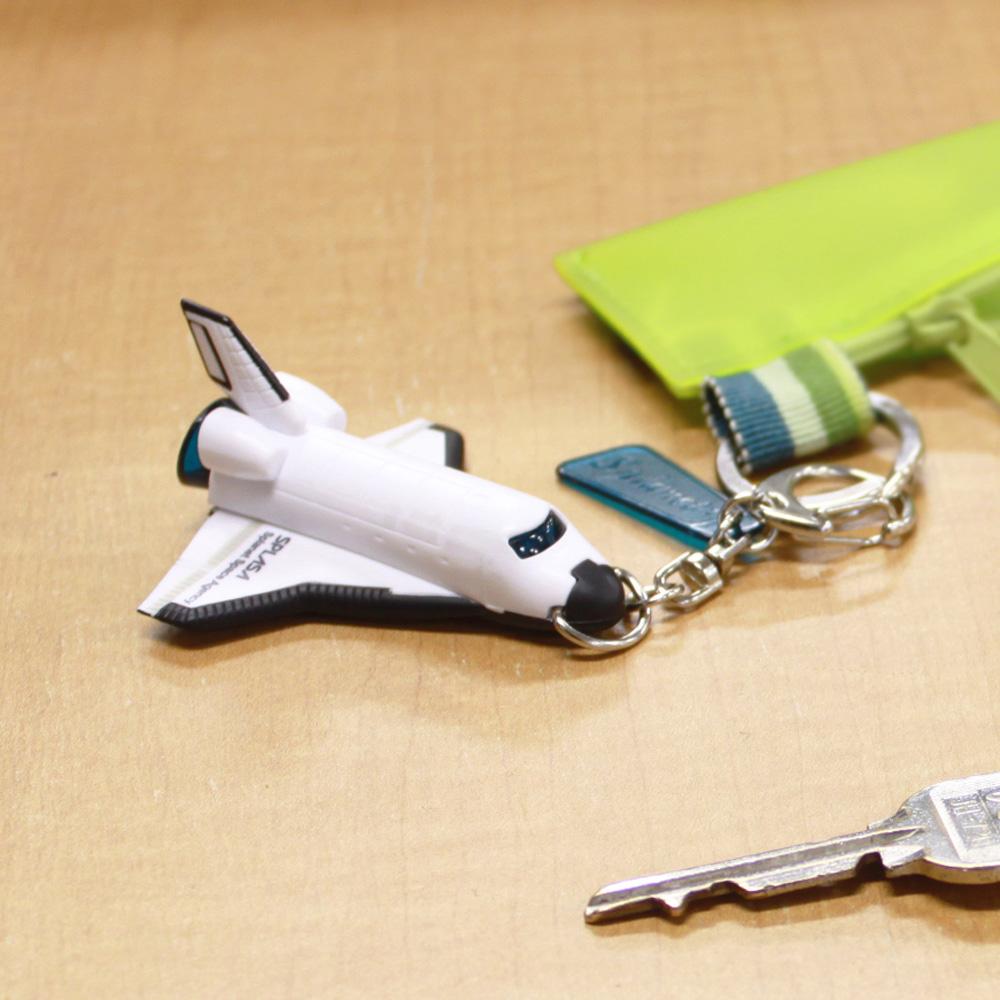 Dreams|太空梭造型 LED 鑰匙圈 藍