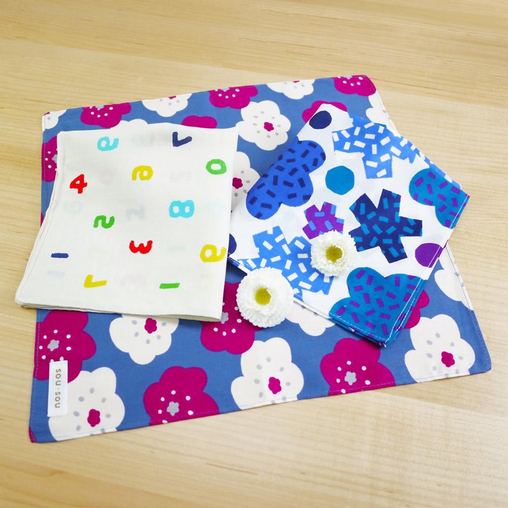 日本丸真|SOU SOU 京都新和風萬用手帕 花漾菊