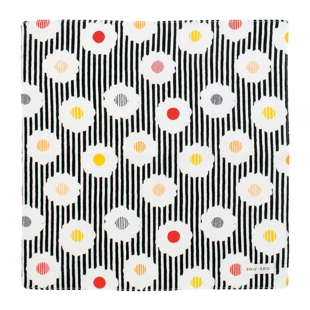 日本丸真|SOU SOU 京都新和風萬用手帕 繁花點點