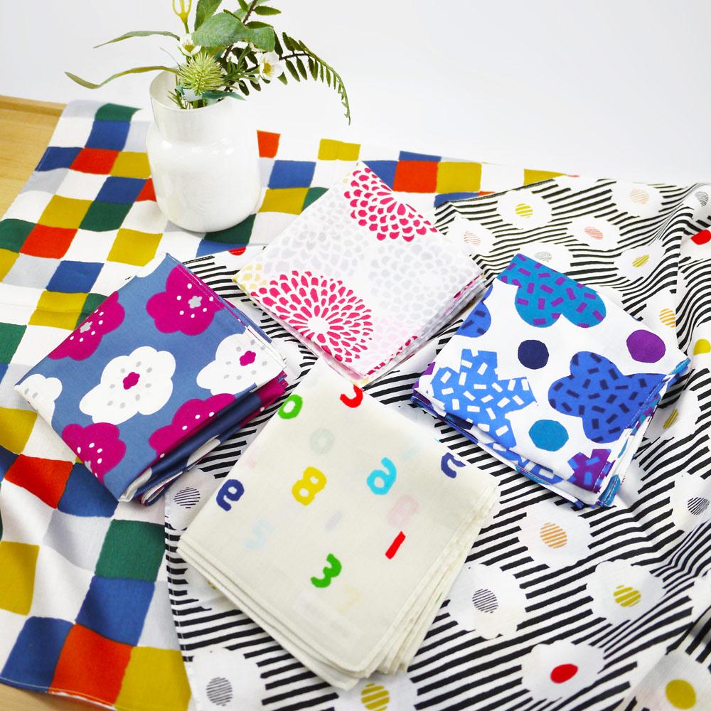 日本丸真 SOU·SOU 京都新和風風呂敷萬用巾 繁花點點