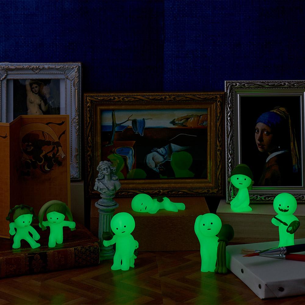 Smiski 不可思議的夜光精靈-世界名畫博物館系列(單入隨機款)