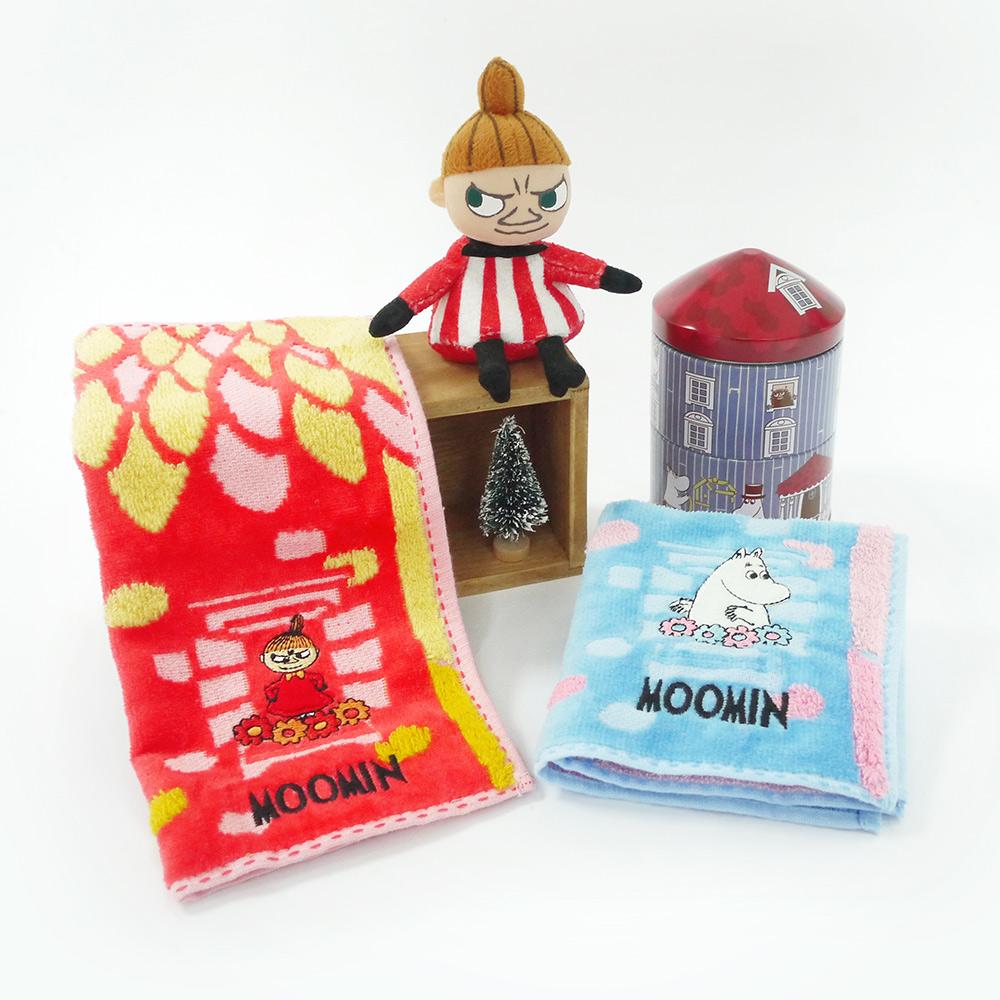 日本丸真|Moomin 方巾鐵盒小屋