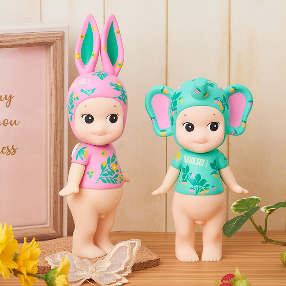 Sonny Angel|藝術家系列ANNA SUI Active聯名限定版大型公仔花漾兔寶貝