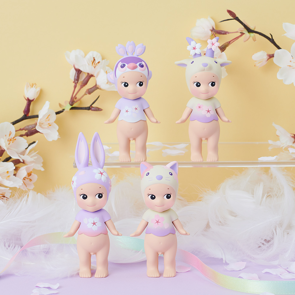Sonny Angel 2021 Cherry blossoms 粉紫櫻花限量版公仔(兩入隨機款)