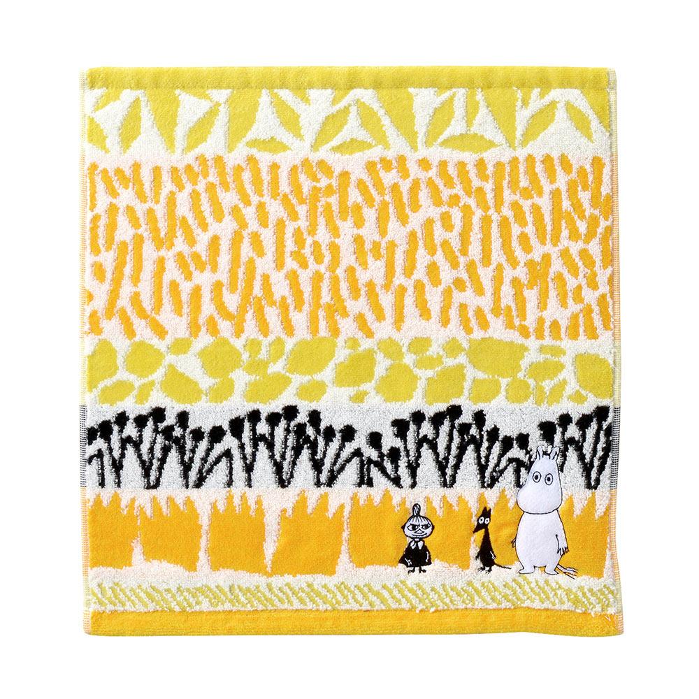 日本丸真|Moomin澄間漫步刺繡洗臉巾