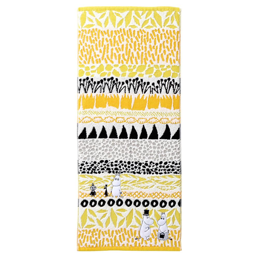 日本丸真 Moomin澄間漫步刺繡毛巾