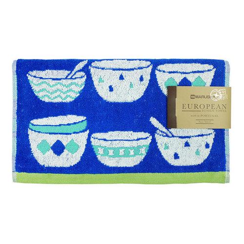 日本丸真 葡萄牙製創意北歐毛巾 陶瓷碗