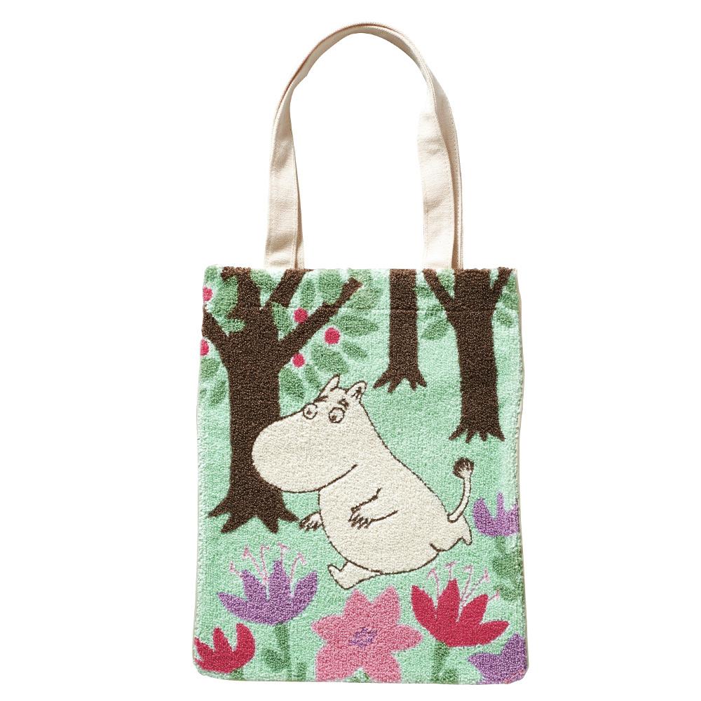 日本丸真 Moomin 穿越森林手提袋