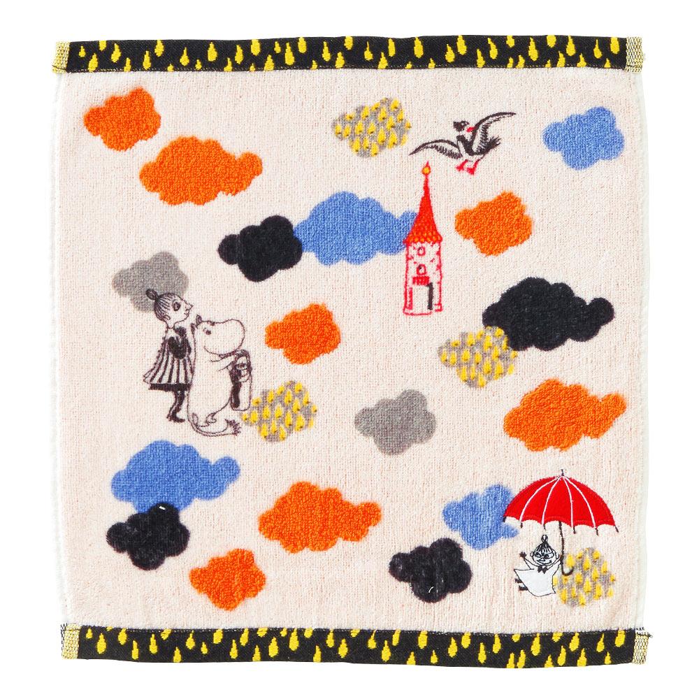 日本丸真|Moomin雲雨的冒險 洗臉巾