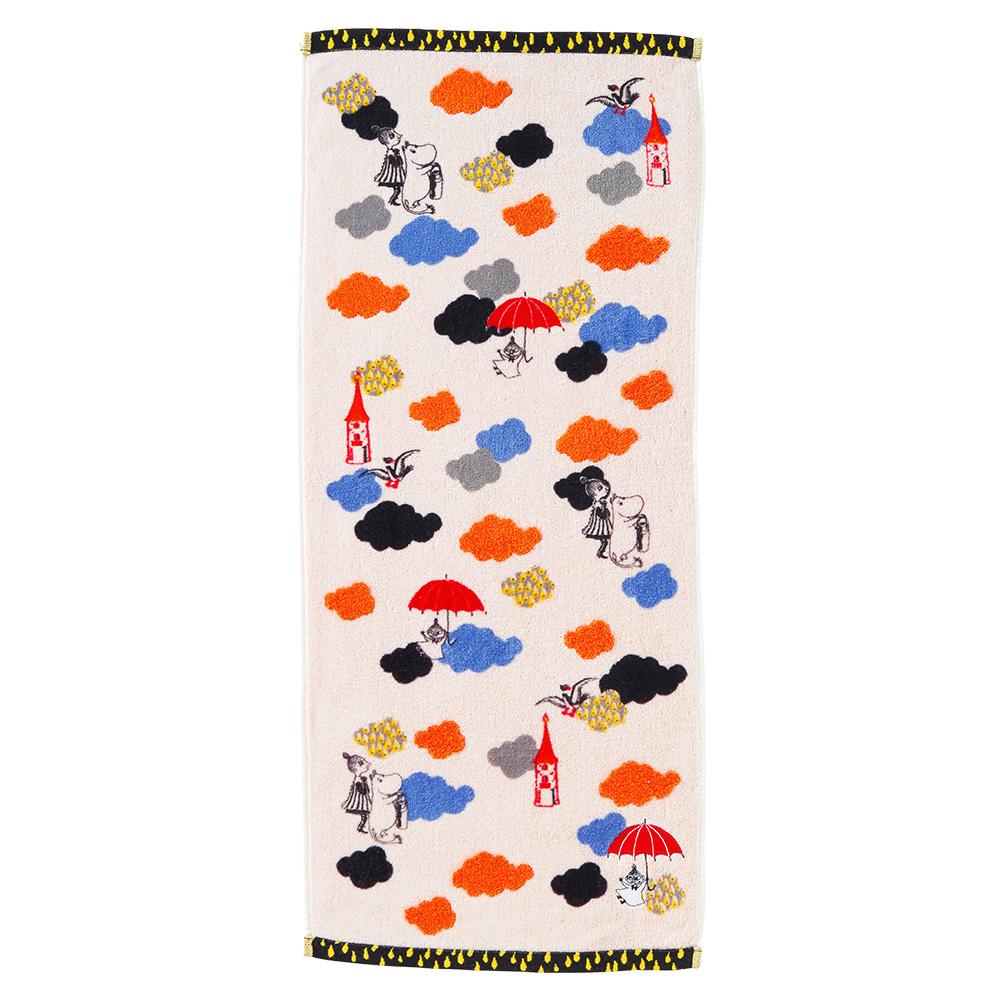 日本丸真|Moomin雲雨的冒險 毛巾