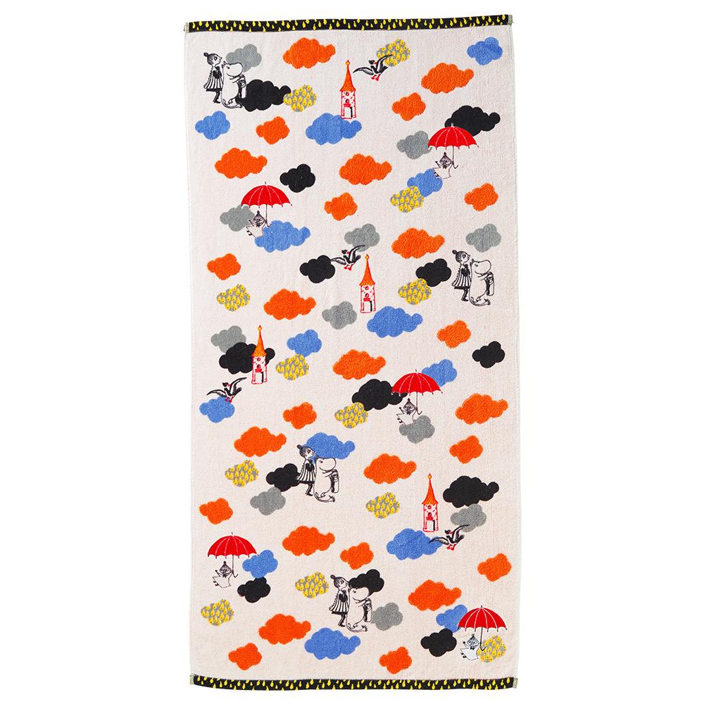 日本丸真 Moomin雲雨的冒險 浴巾