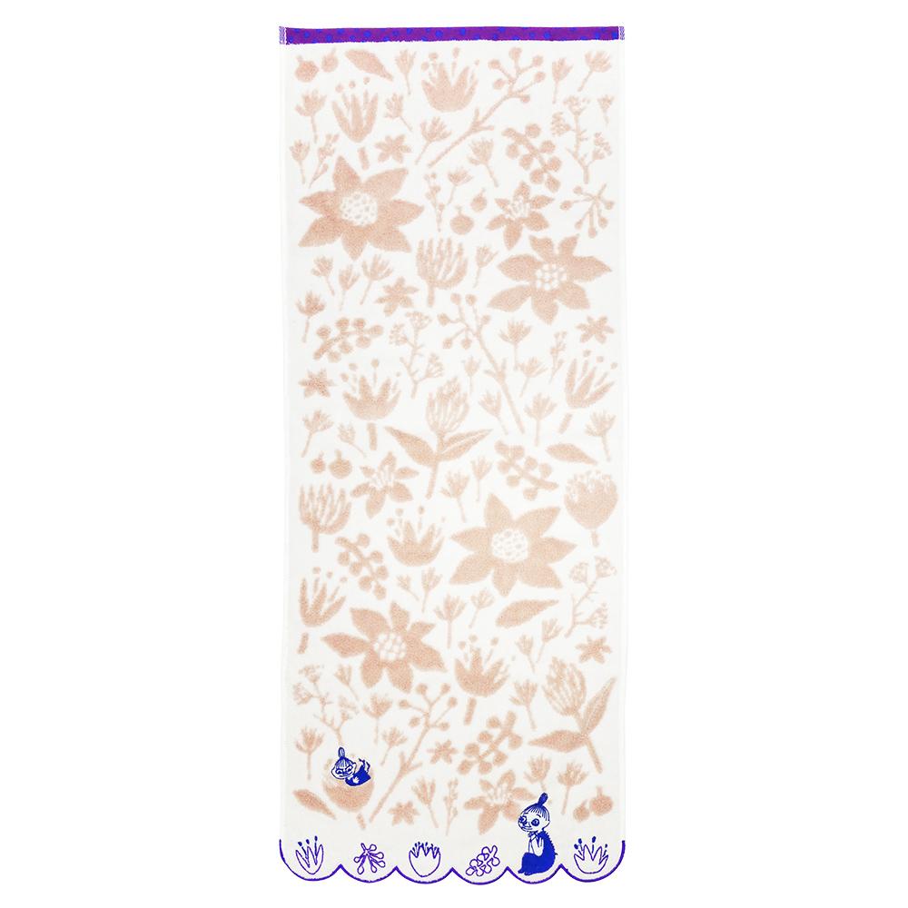 日本丸真|Moomin小不點與美寶春花綻放 毛巾