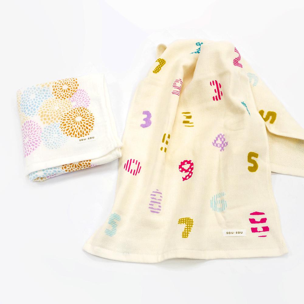 日本丸真|SOU SOU京都新和風毛巾禮盒