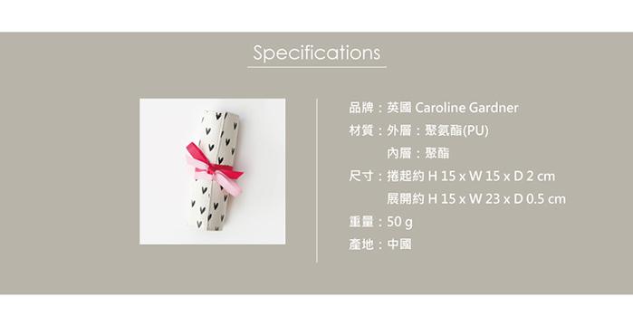 (複製)Caroline Gardner|捲式旅行飾品收納袋(小)晶鑽銀