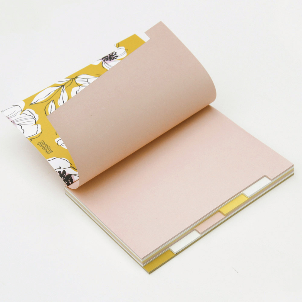 Caroline Gardner|多標籤筆記本 櫻花粉