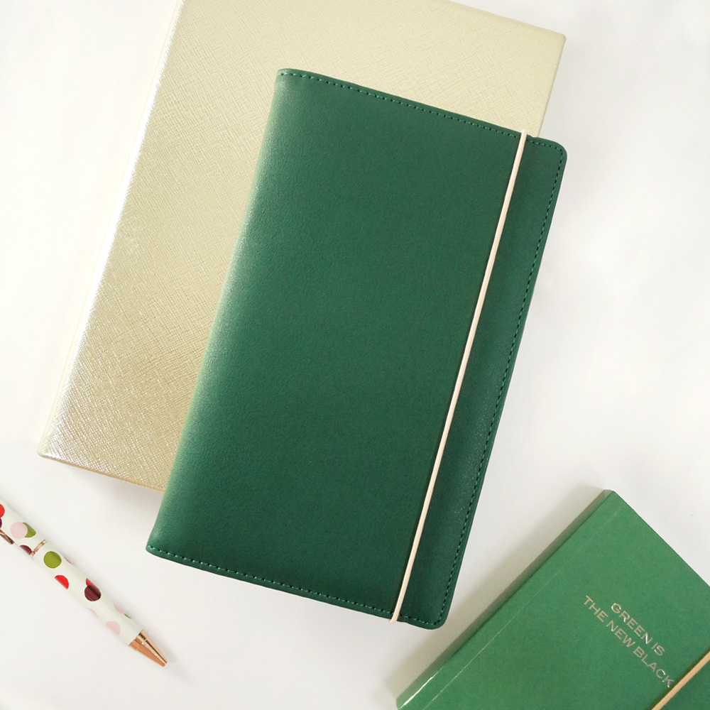 Caroline Gardner|多功能旅行護照夾 - 森林綠