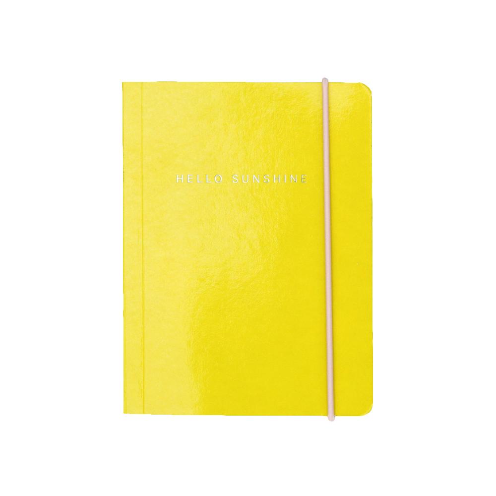 Caroline Gardner|橫線筆記本 - 檸檬黃