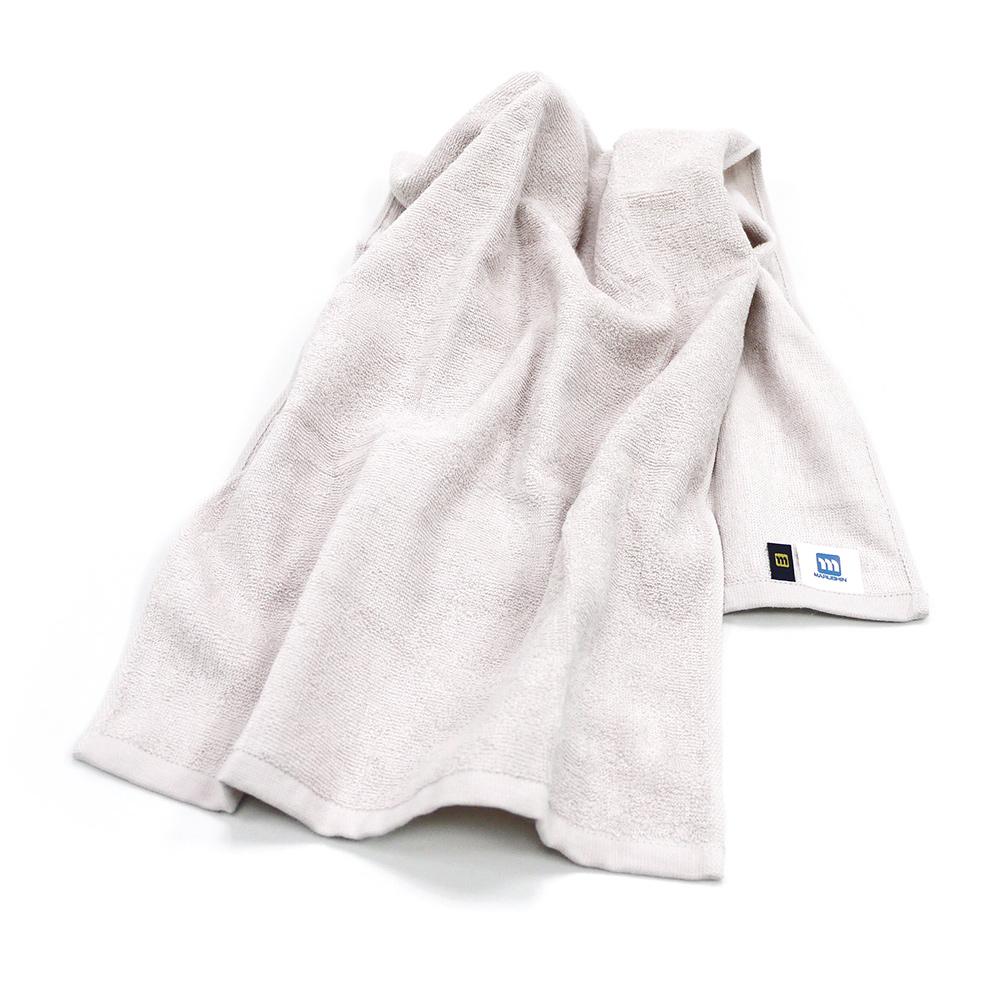 日本丸真 日本製Etak抗菌純棉快乾毛巾 灰