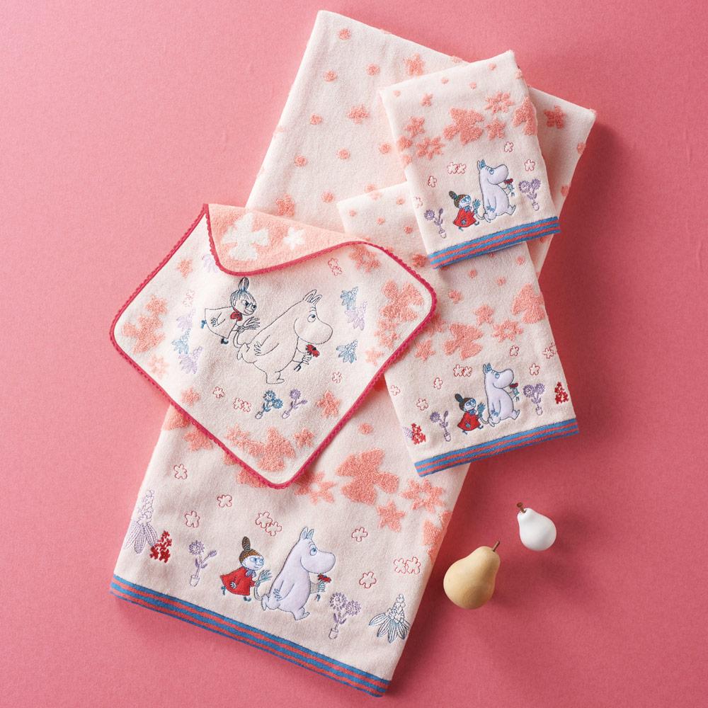 日本丸真|Moomin 刺繡毛巾 幻想曲