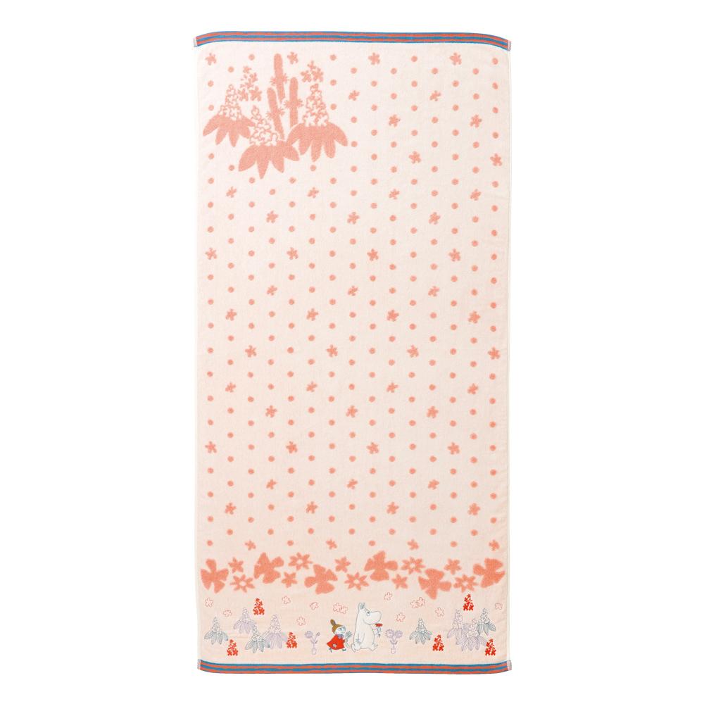 日本丸真|Moomin 刺繡浴巾 幻想曲