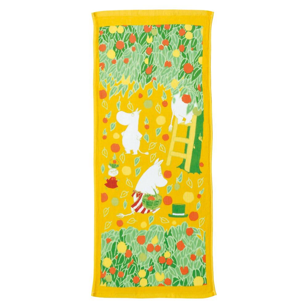 日本丸真 Moomin 今治紗布毛巾 秋季豐收