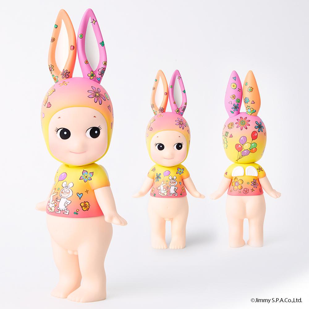 Sonny Angel 藝術家系列幾米聯名限定版大型公仔  心花朵朵兔