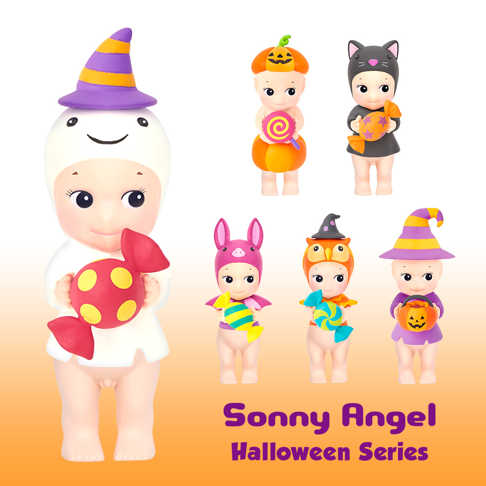 Sonny Angel|2021 Halloween 萬聖搗蛋鬼限量版公仔(盒裝12入)