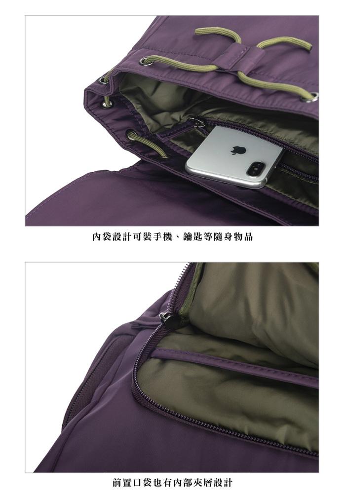 (複製)TUCANO|超輕量防潑水撞色系休閒大容量後背包-黃色