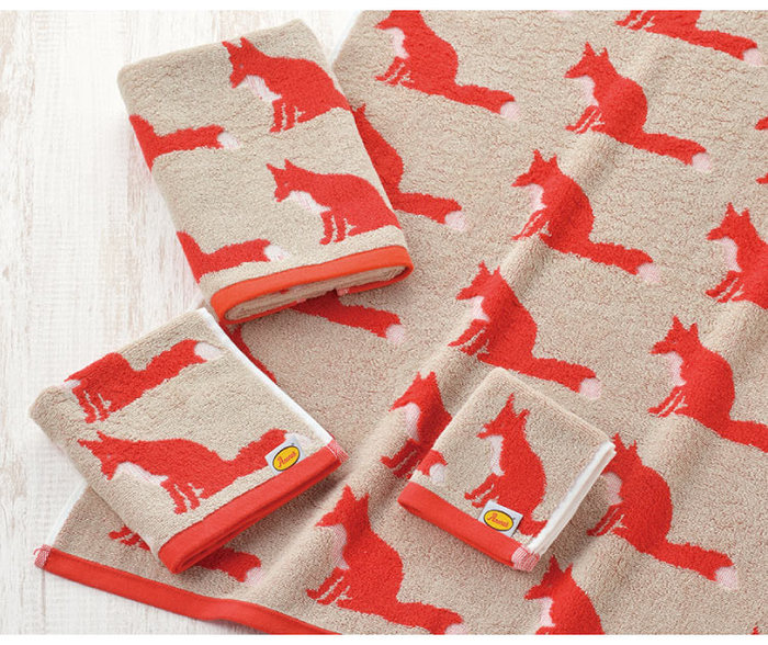 (複製)日本丸真|Anorak英倫設計款毛巾 鼬鼠