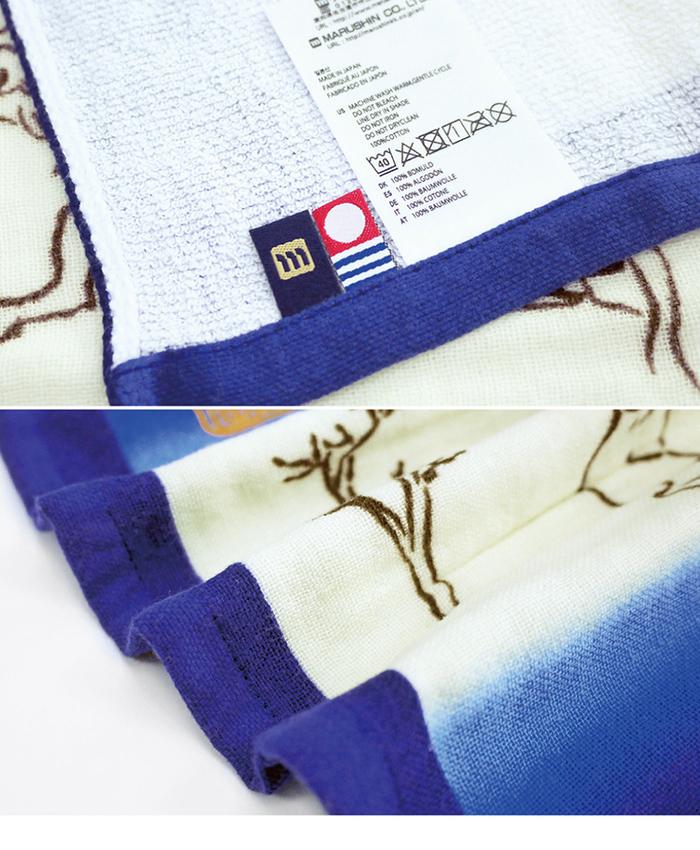 (複製)日本丸真|今治鳥獸戲畫紗布吸水毛巾 高山寺