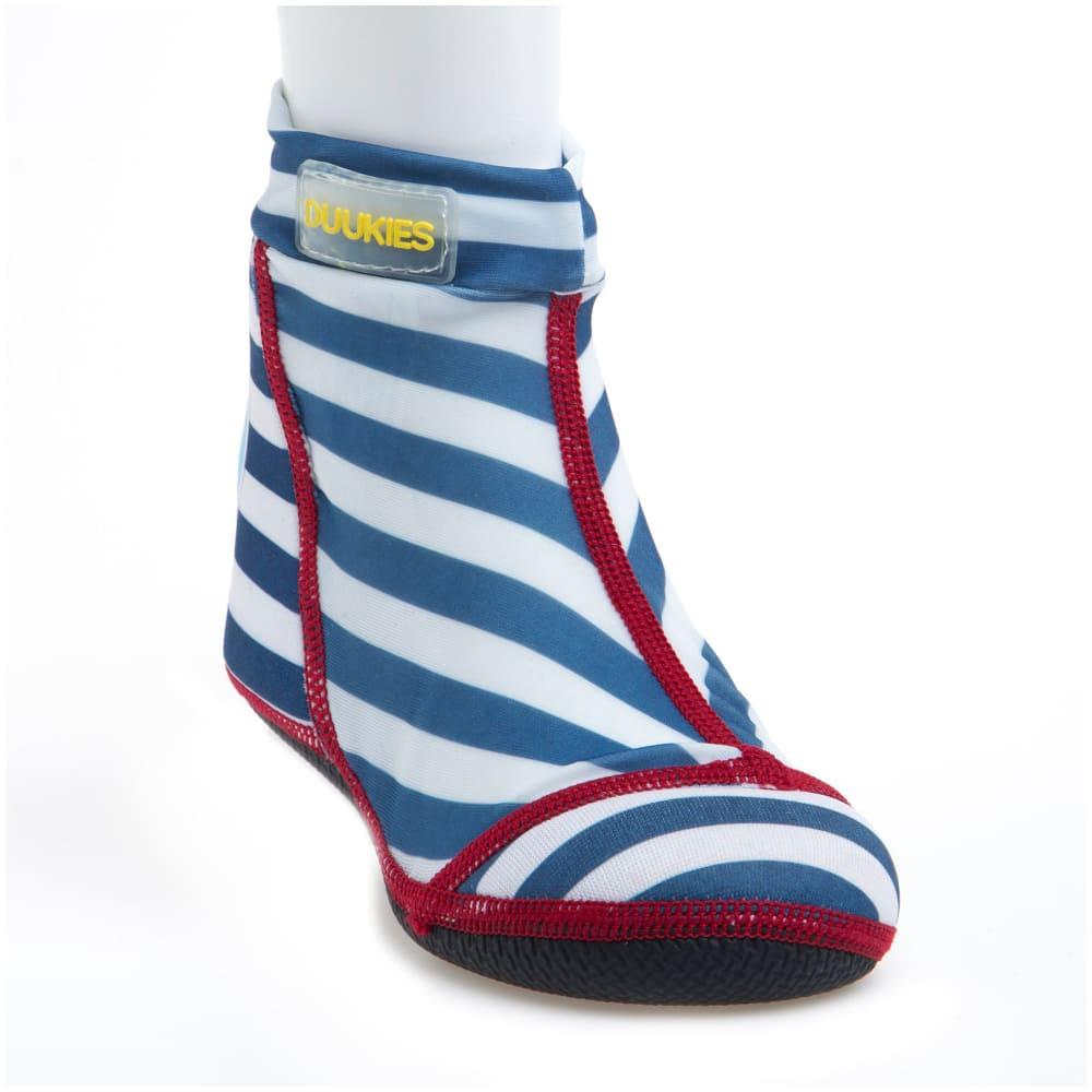 荷蘭Duukies 兒童戶外襪鞋/沙灘鞋-英式條紋(1-12歲)