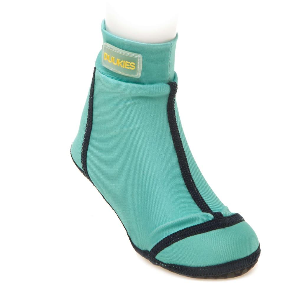 荷蘭Duukies 兒童戶外襪鞋/沙灘鞋-湖水綠(1-12歲)
