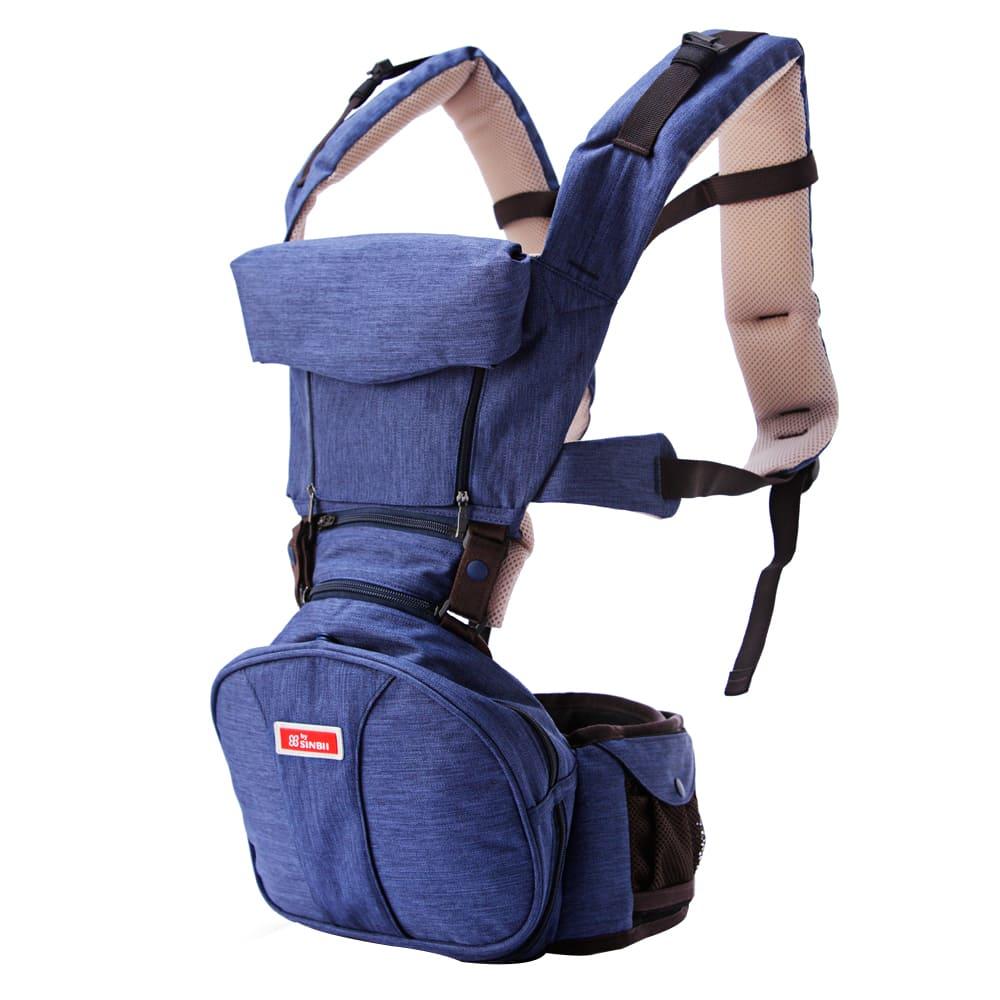 SINBII|EZbag 2.0 全階段嬰兒背帶- 多瑙藍