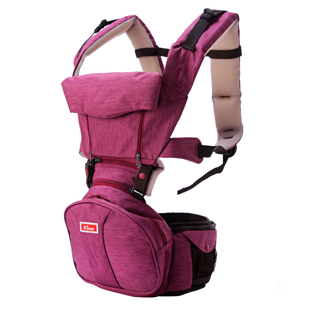 SINBII EZbag 2.0 全階段嬰兒背帶- 波爾多紫