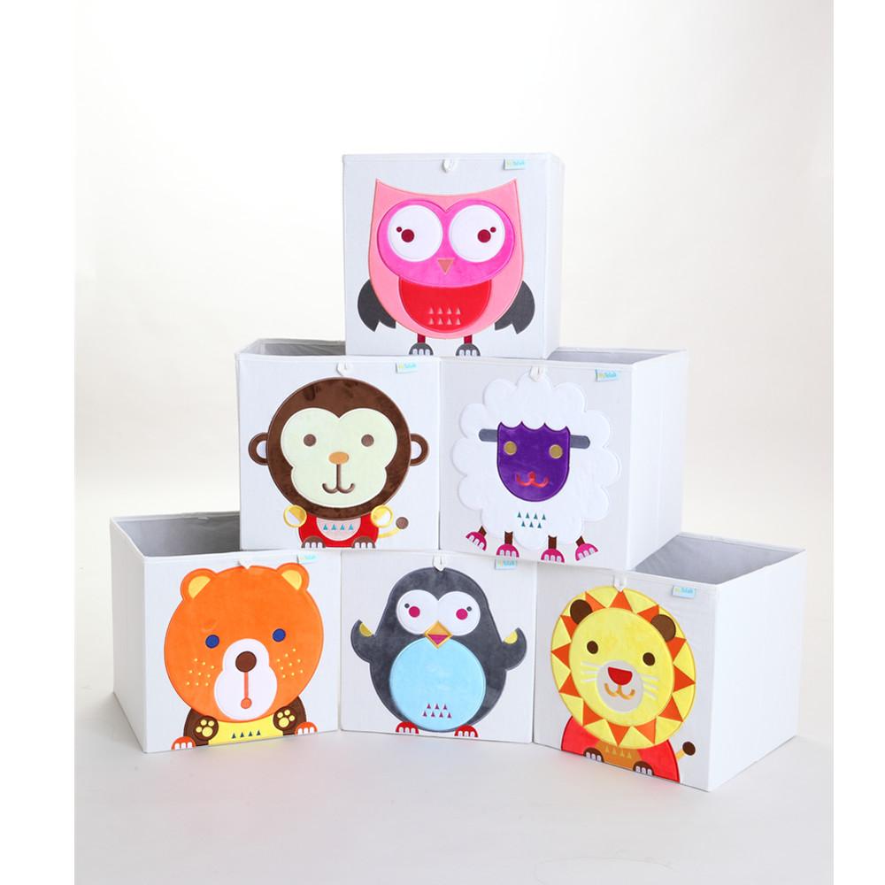 MyTolek童樂可|藏寶盒收納布箱-太陽獅