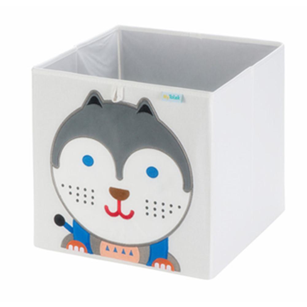 MyTolek童樂可|藏寶盒收納布箱-哈寶寶