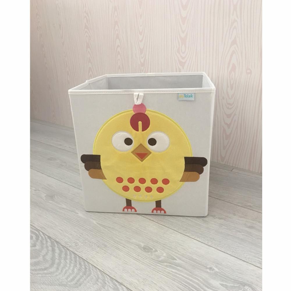 MyTolek童樂可|藏寶盒收納布箱-托湯雞