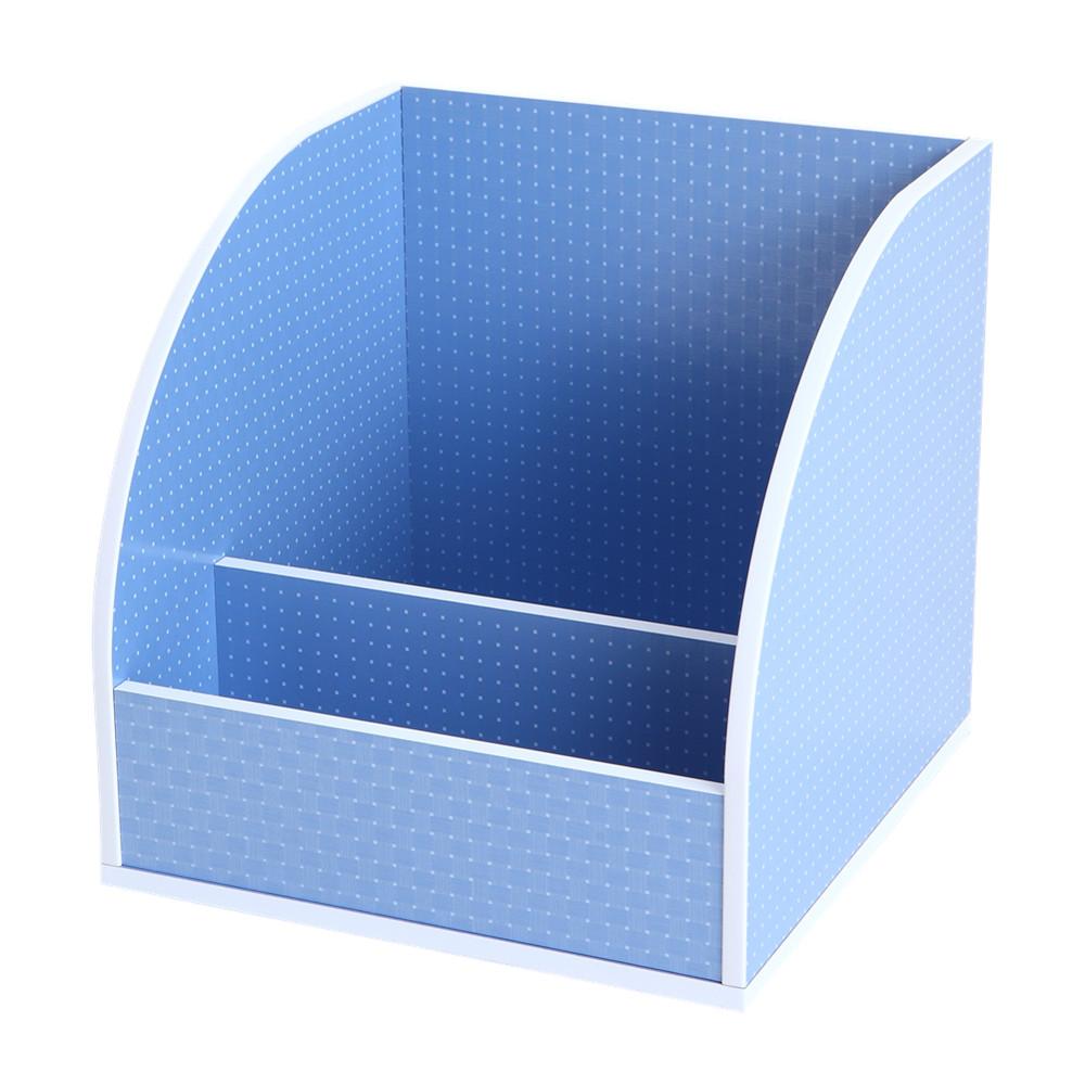 MyTolek童樂可|積木櫃收納系列-書架架(點點藍)
