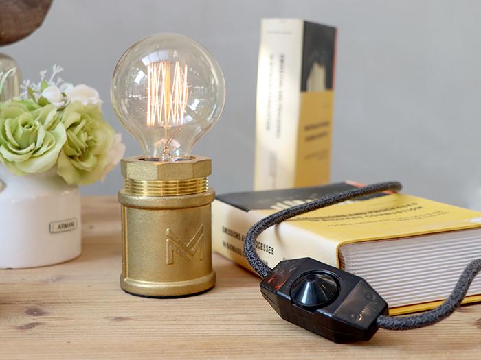 (複製)曙MUSE | 復古黃銅手輪調光