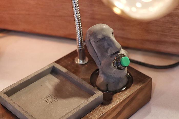 (複製)曙MUSE | 木質名片展示架桌燈