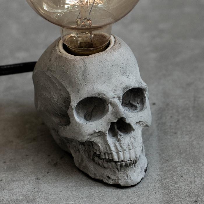 (複製)曙MUSE | 個性白骷髏頭桌燈