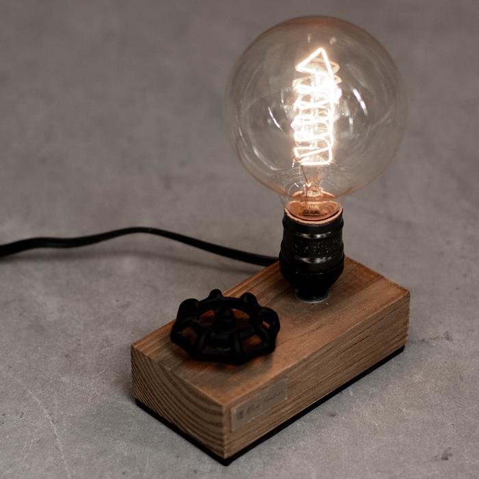 (複製)曙MUSE|手輪調光木質名片架桌燈