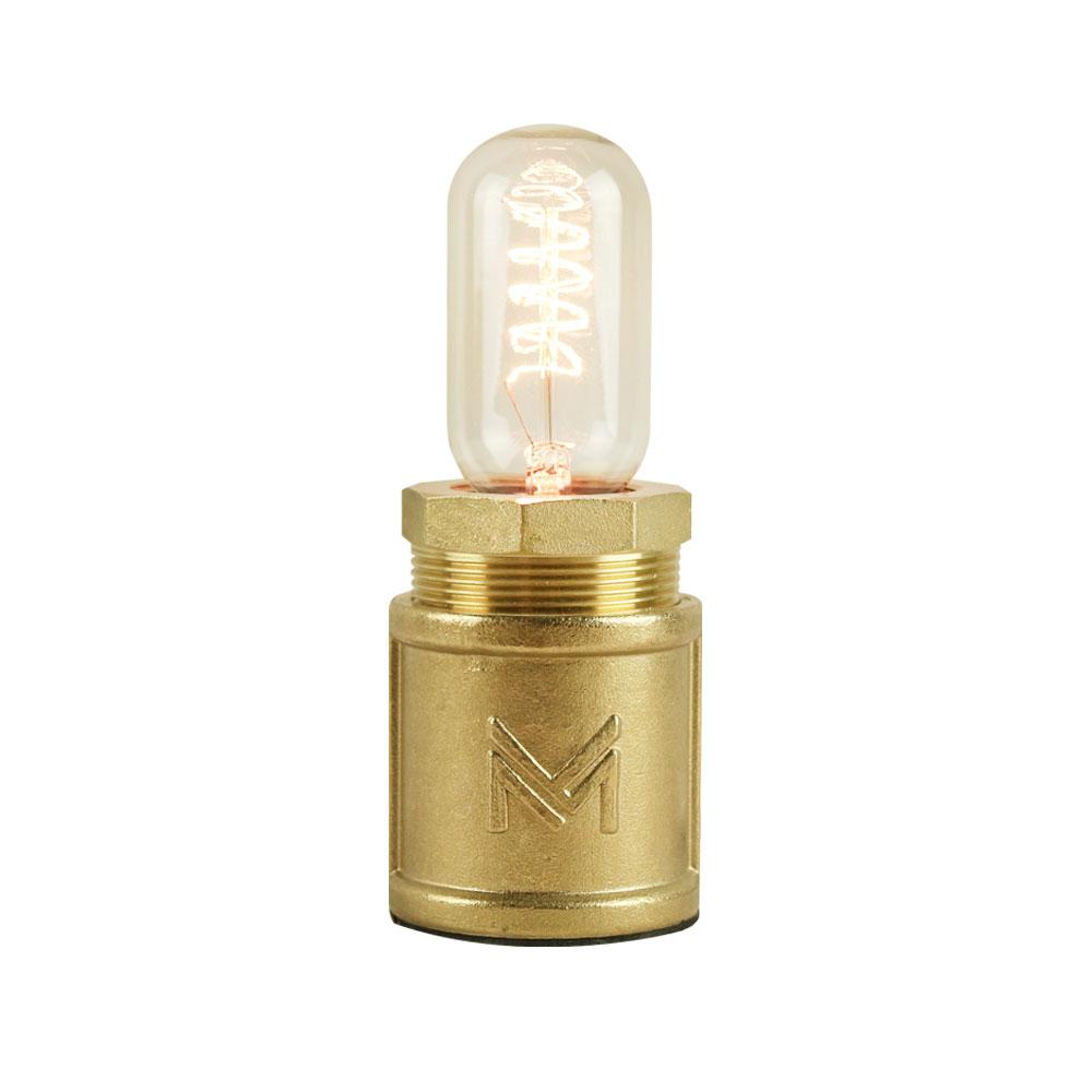曙MUSE   觸碰調光復古黃銅水管桌燈